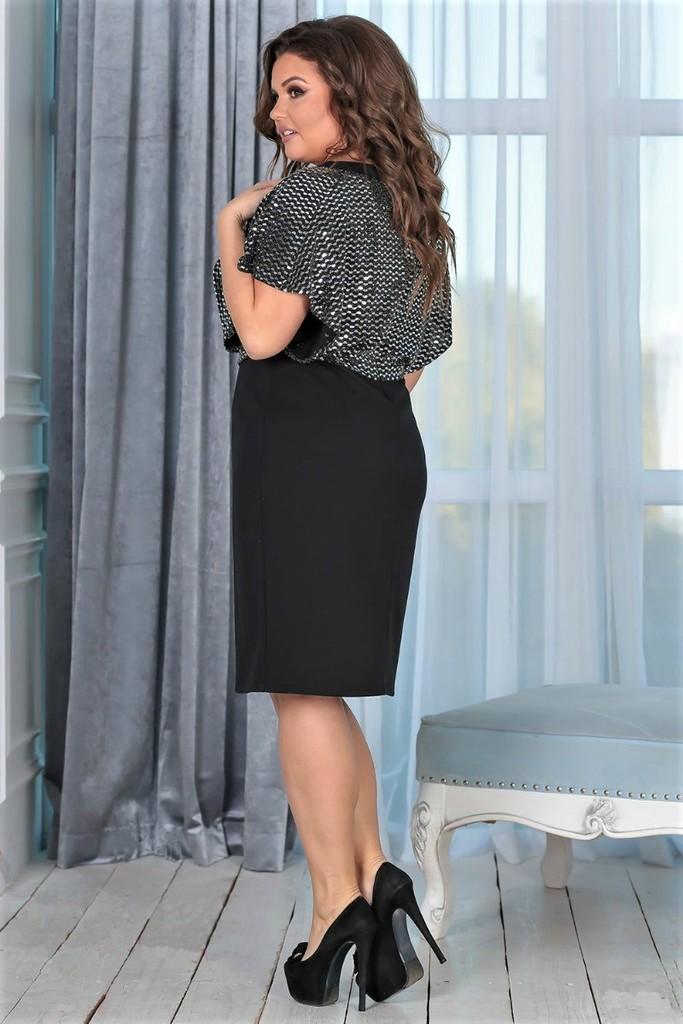 📍Женское платье Агата черное