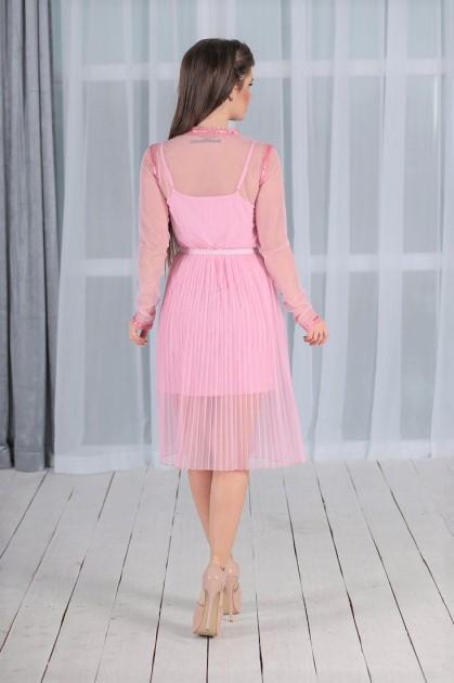 👠Женское платье Айрис розовое👚