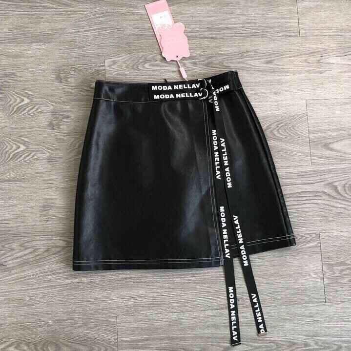 Новая юбка из эко кожи