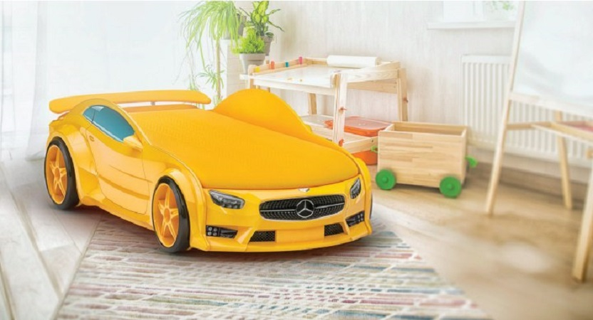 Кроватки машинки для детей от 2 до 12 лет
