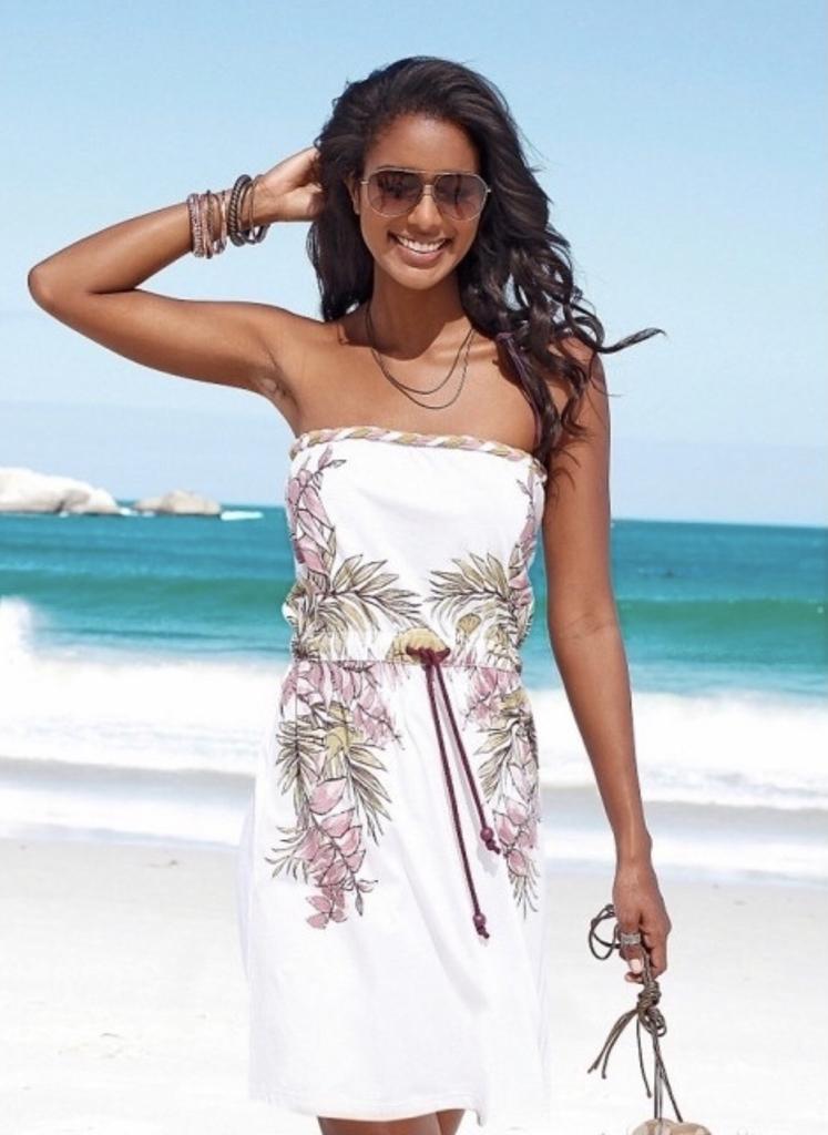 платье beach time новое