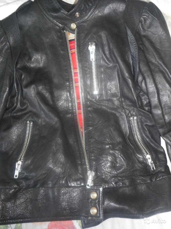 Dean Leather Motorcycle Jacket Black Австралия