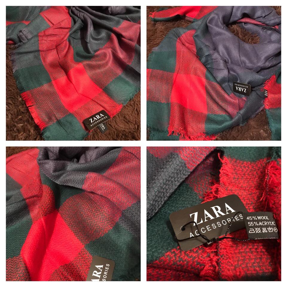 Теплый платок Zara