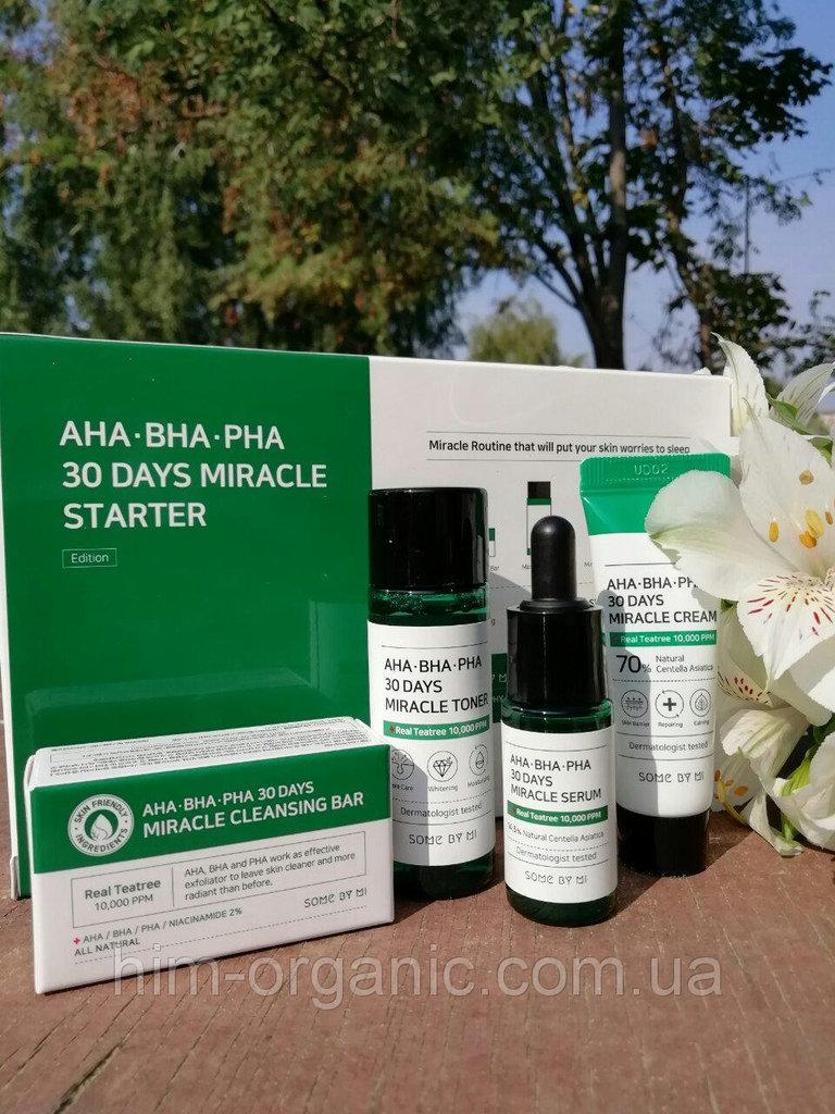 Набор для проблемной кожи Some By Mi Aha-Bha-Pha 3
