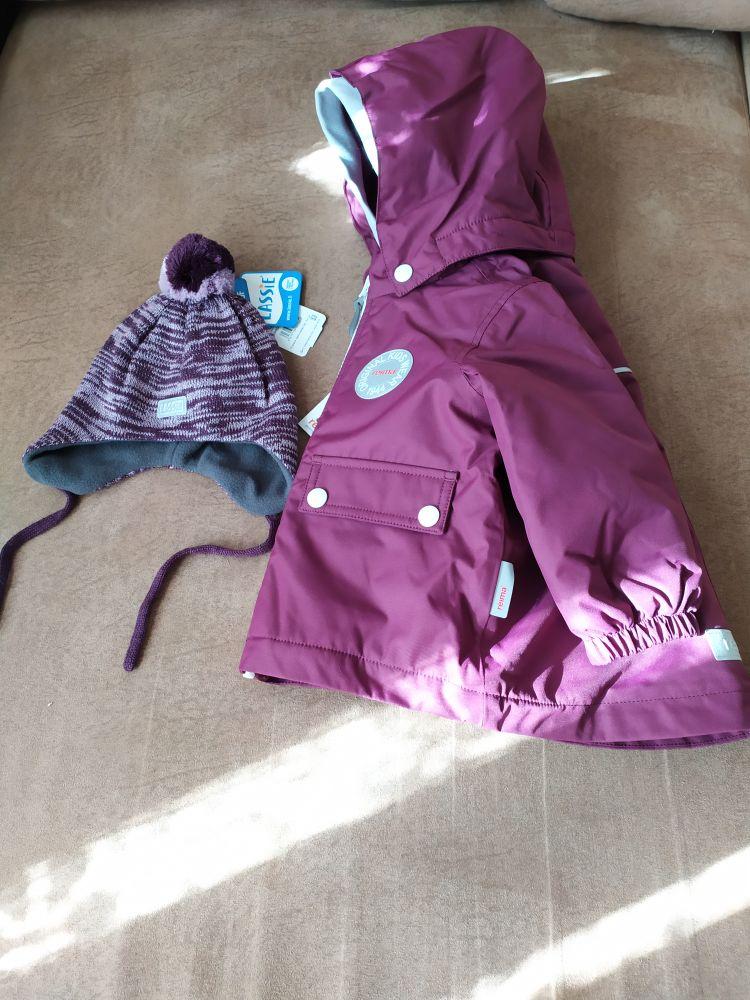 Новая куртка Reima р.74+6 с этикетками и шапкой
