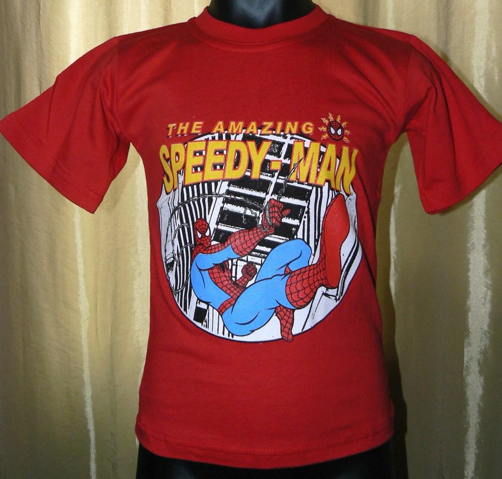 Детские новые футболки Спайдермен и не только