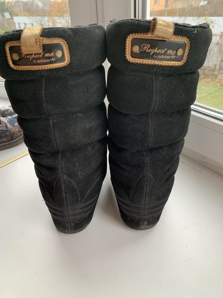 Сапоги зима adidas р.37