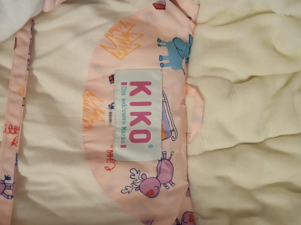 Комбинезон-конверт пуховый KiKo р.68