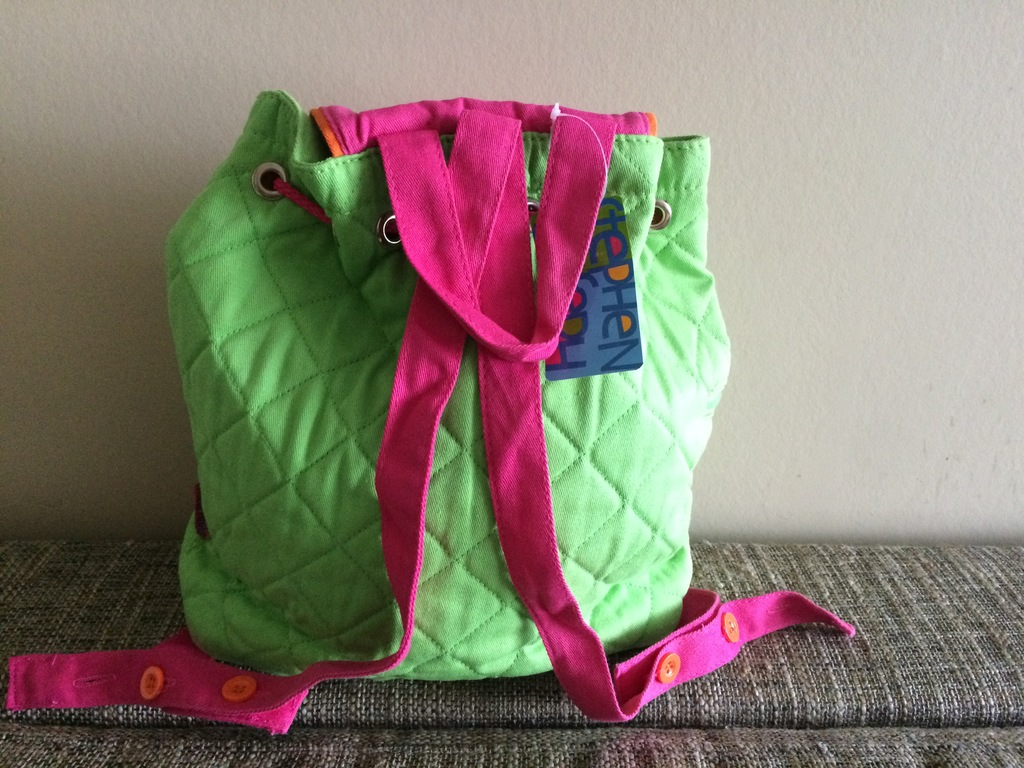 Стеганый рюкзак Stephen Joseph Quilted Backpack