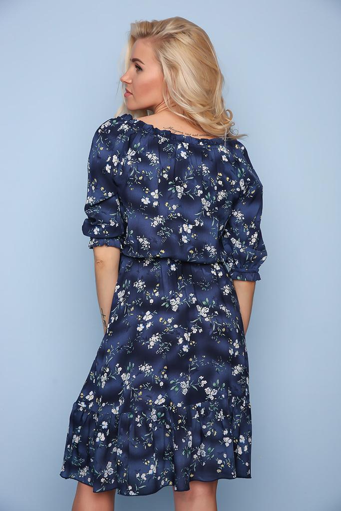 Легкое винтажное платье из штапеля