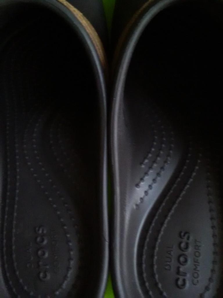 Crocs Новые, классические сабо, на каблуке