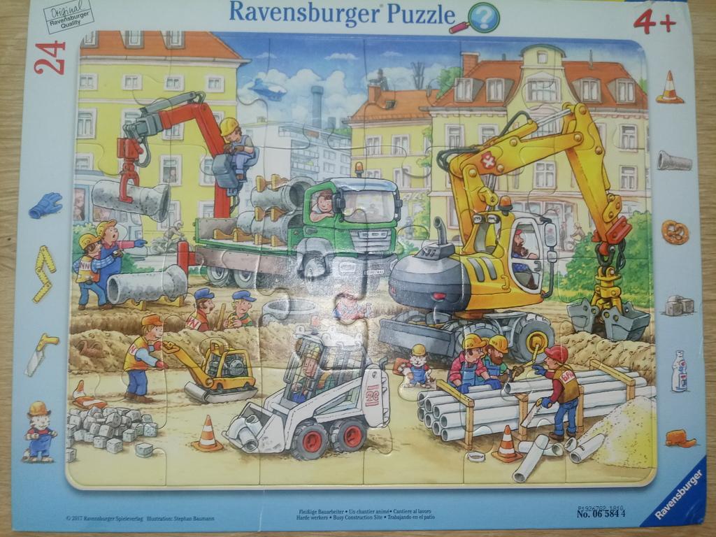 Набором пазл ravensburger 24
