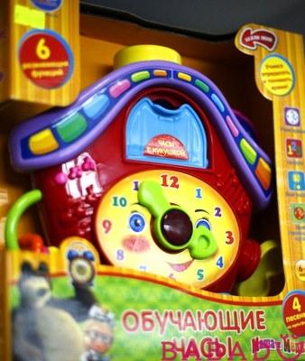 """Новые Обучающие часы Умка """"Маша и медведь"""""""