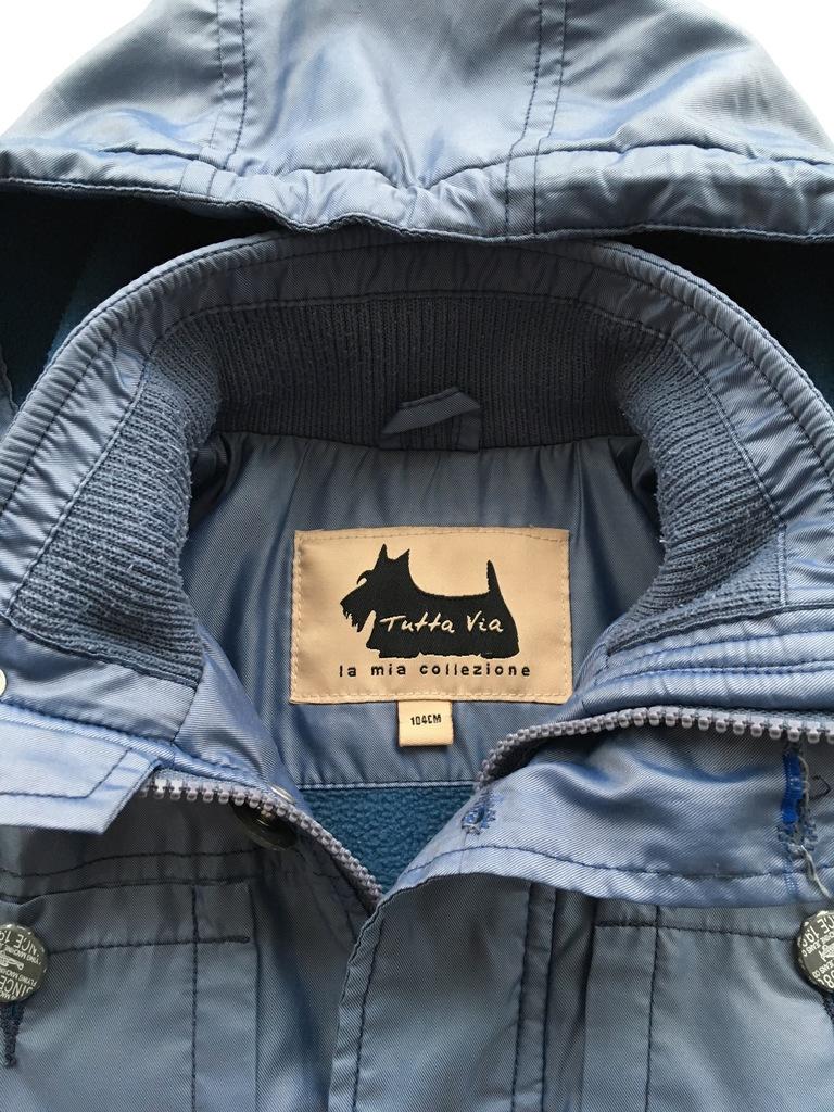 Тёпленькая курточка Tutta Via р.104
