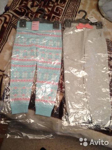 Новые теплые штаны Mothercare 98-104см