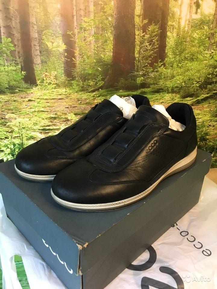 Мужск. натуральные ботинки Экко 39 кожа