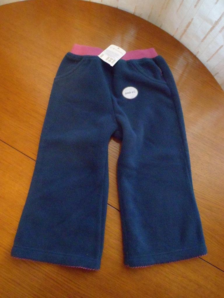 Новые флисовые брюки Mothercare 12-18 мес