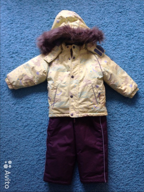 Зимний комплект Huppa