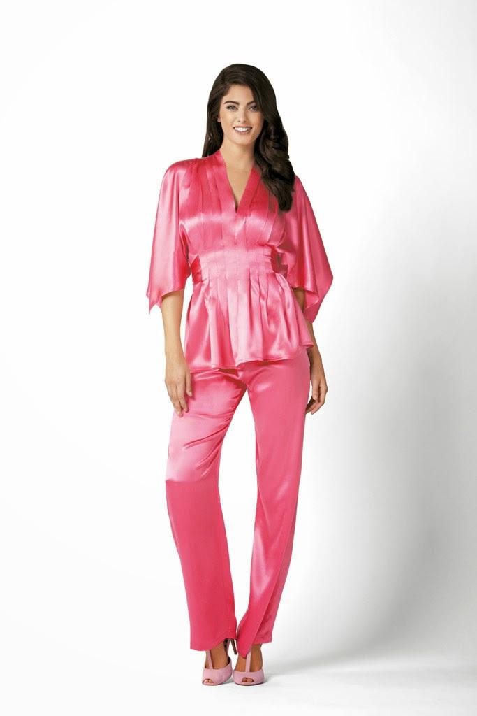шелковые костюмы женские в пижамном стиле