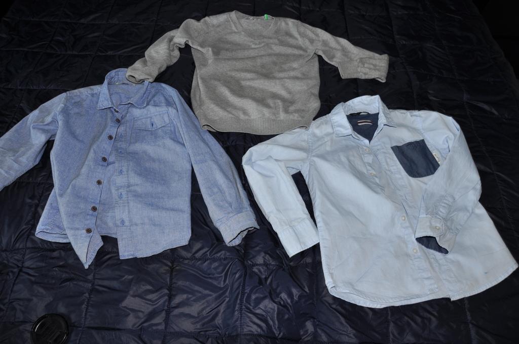 Пакет школьной одежды синяя 122