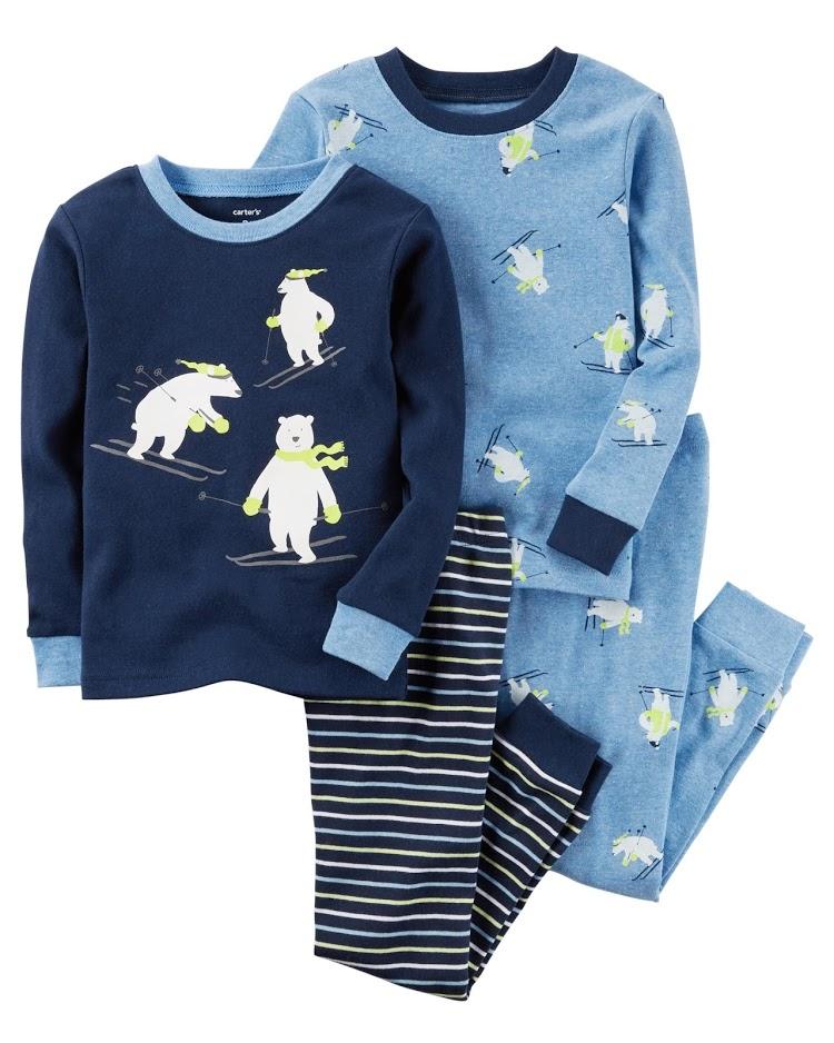 Пижамы Carters на 6-8 лет