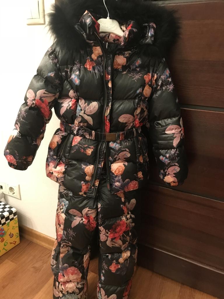 Зимний костюм на девочку Jums на 110