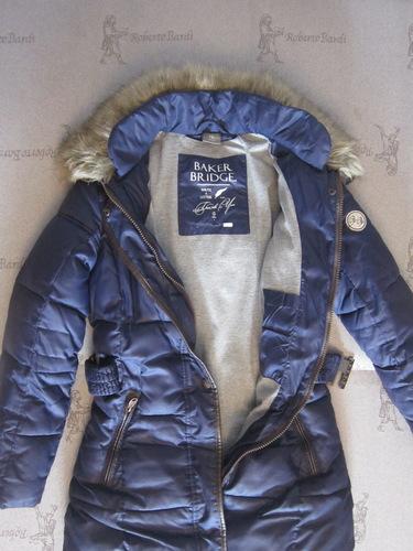 Зимнее пальто 146-152р-р