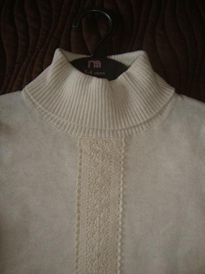 Новый,стильный свитер д/д Mothercare на 3-4г (104)