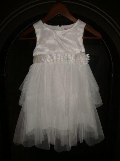 Праздничное платье д/д. Размер 104-110.