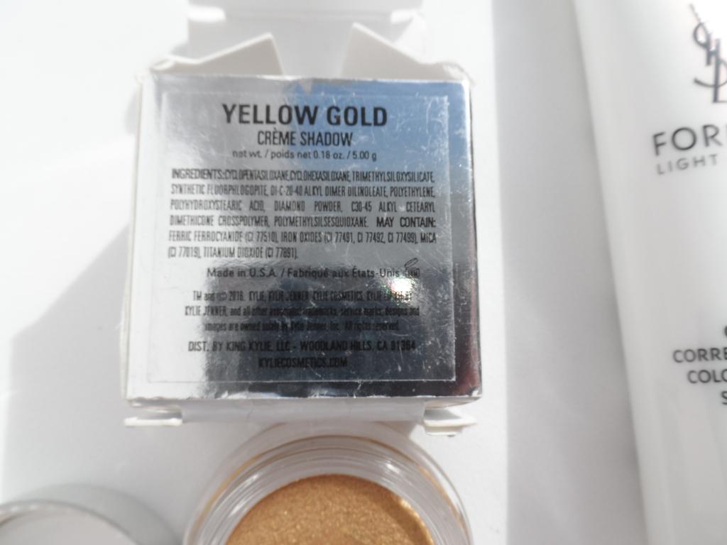 Продам тени Kylie yellow gold, сс-крем YSL