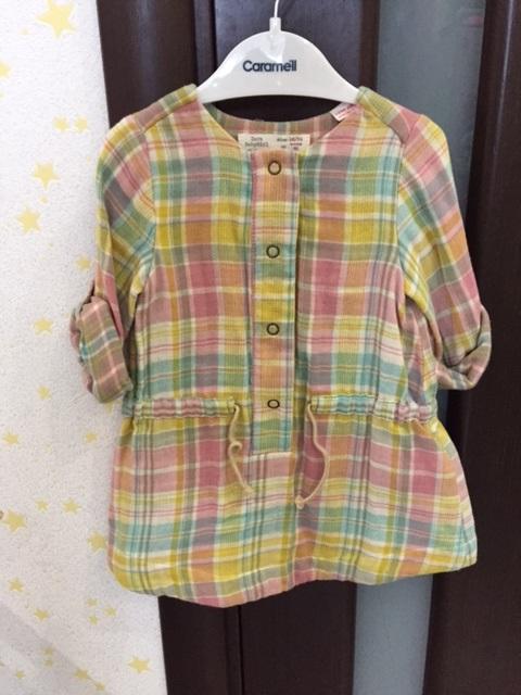 платье ZARA 18-24 мес новое