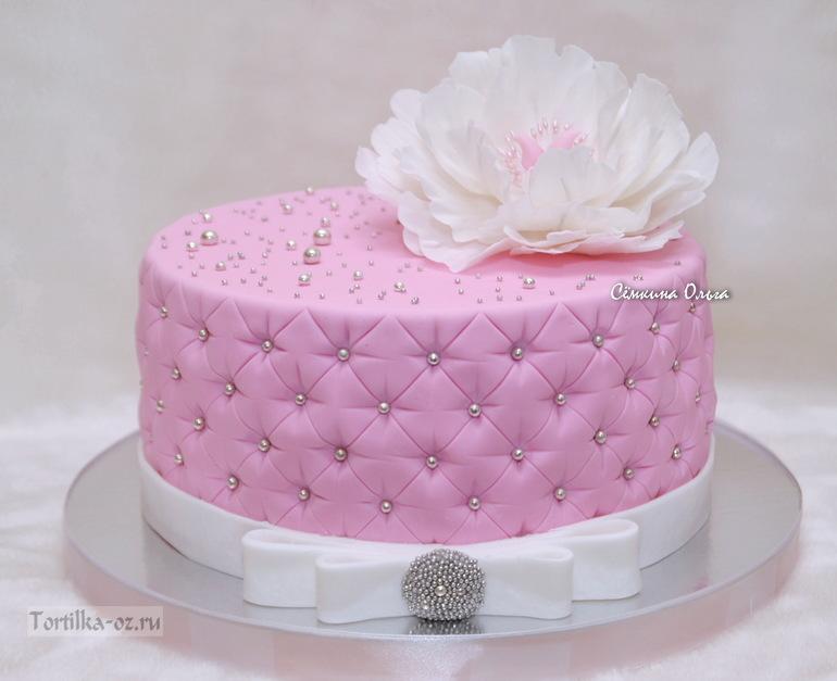 Красивые тортики для девушки