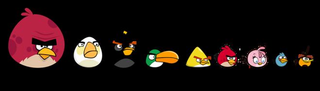 птички энгри бердз картинки