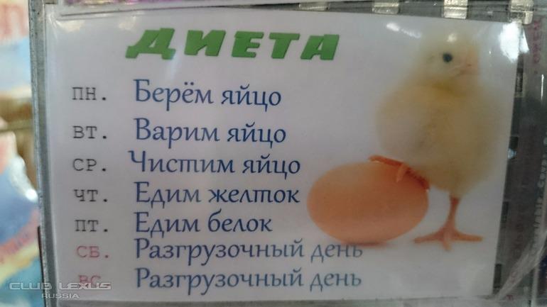 Диета Первый День Яйца.