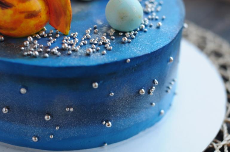 торт космический рецепт