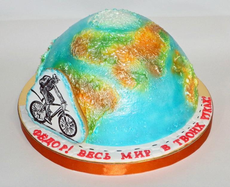 Торт глобус картинка