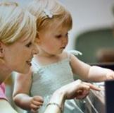 Музыкальные занятия с мамой
