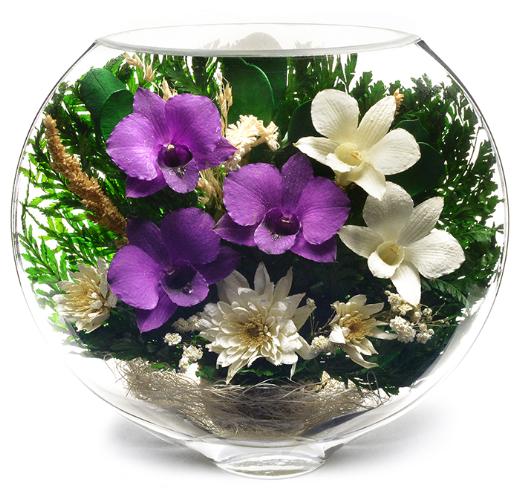 Живые цветы которые не вянут годами цены жене в подарок