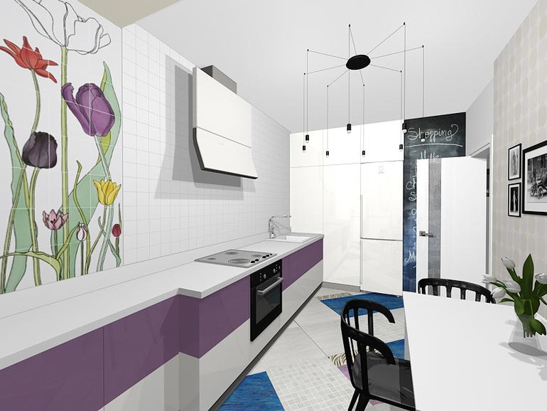 моя белая мечта кухня без верхних шкафов запись пользователя