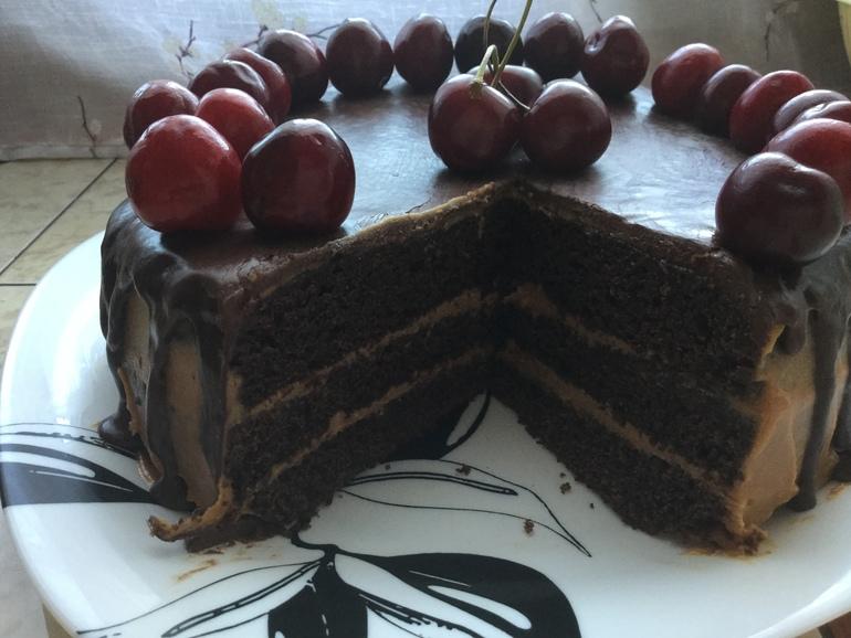 торт на раз два три рецепт в мультиварке