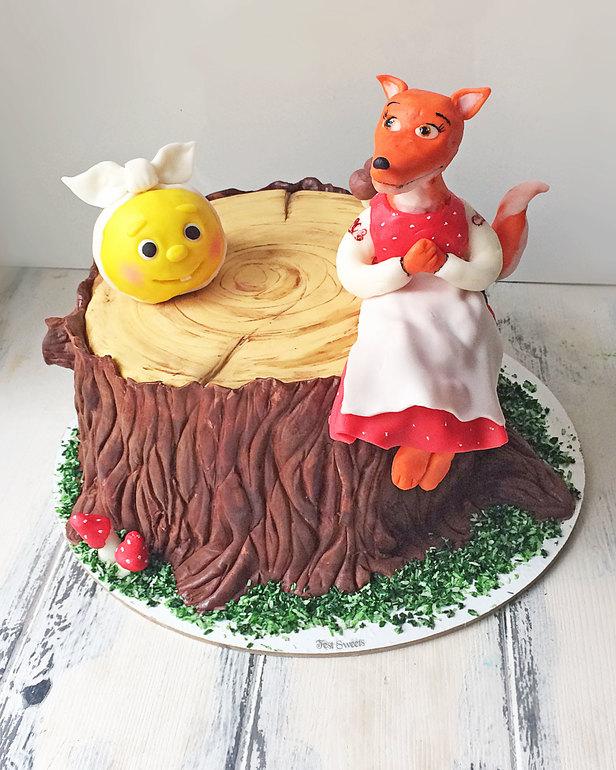 торт со сказочными персонажами своими руками фото предоставлена