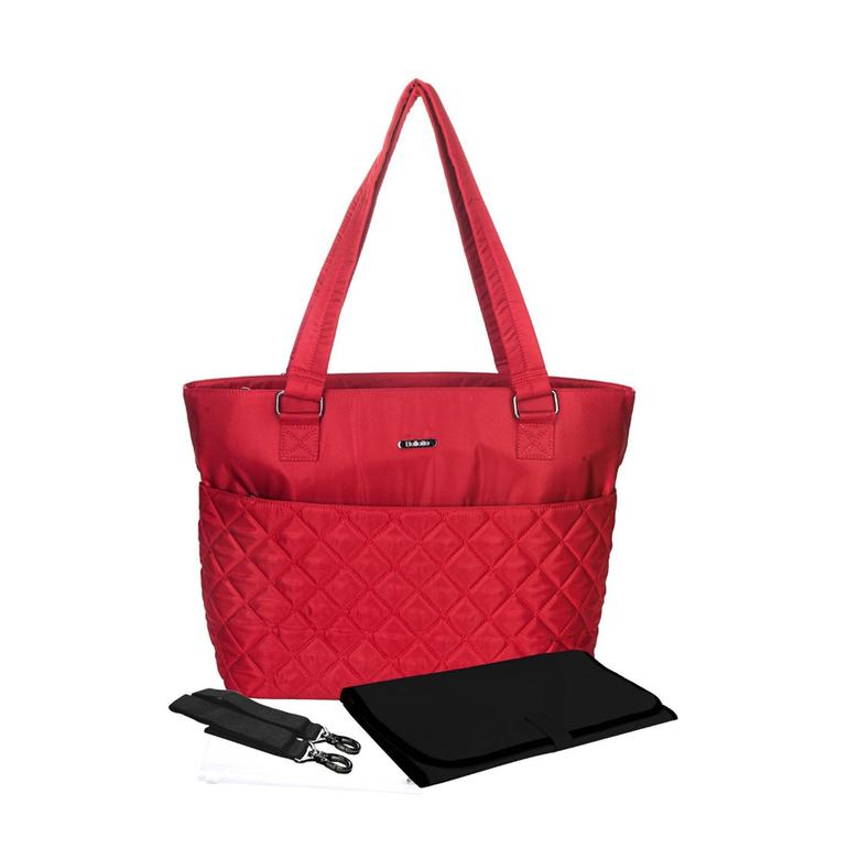 1e8c9698b109 Кроме того, у сумки имеются специальный термокарман для детского питания и  непромокаемый чехол для подгузников. В комплекте - прочные крепления для  ручки ...