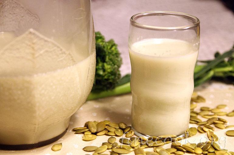 реепт молока из подсолнечника женщины