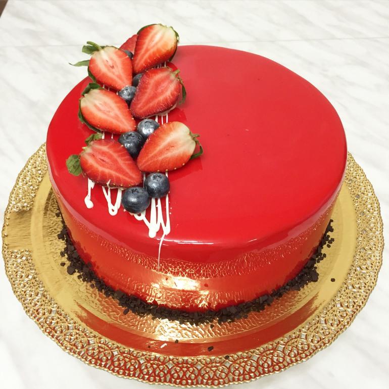 Шоколадные торт с фруктами рецепт 100
