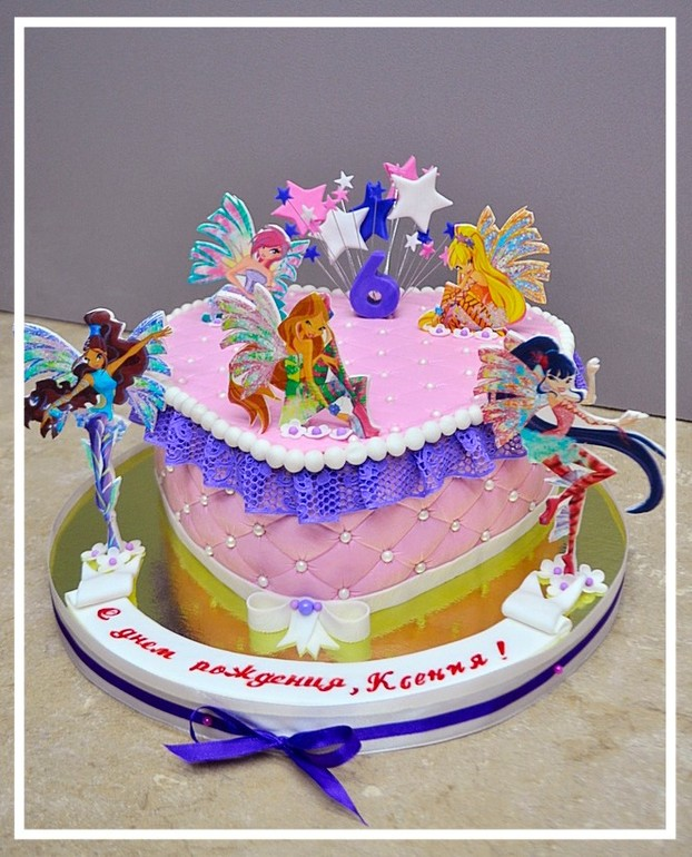 тени торт винкс фотографии таким способом огурчики