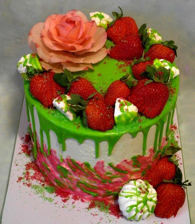 Картинки с тортом любимому олежке