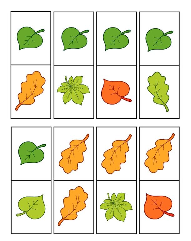 Аппликации из листьев своими руками 37