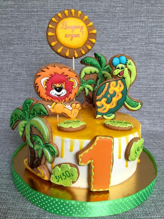 торт львёнок и черепаха фото