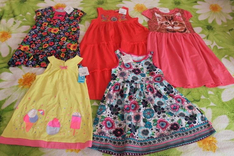 Вайкики детское платье