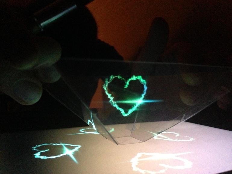 Голограмма сделать своими руками